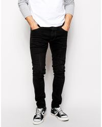 Free Shipping Geniue Stockist Jondrill Washed Black Skinny Jeans - Black Replay Best Sale Cheap Price Real Sale Online Popular Sale Online nLMQGS7tC