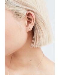 Luv Aj - Metallic Vertigo Coil Threader Earring - Lyst