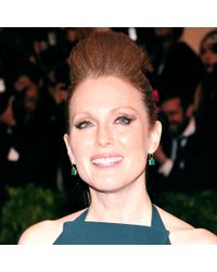 Irene Neuwirth - Green Emerald And Diamond Drop Earrings - Lyst