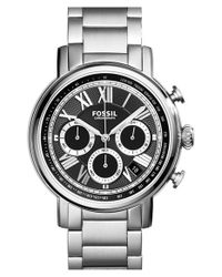 Fossil - Metallic 'buchanan' Chronograph Bracelet Watch - Lyst
