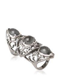 Stephen Webster - Metallic Les Dents De La Mer Articulated Ring - Lyst