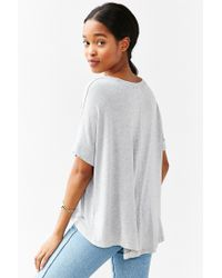 Truly Madly Deeply | Gray Washed Ruby Tee | Lyst