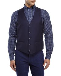 Moods Of Norway - Blue Stein Victor Suit Vest for Men - Lyst