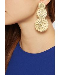 Finds | Metallic + Joyas Fio Gold-Plated Filigree Earrings | Lyst