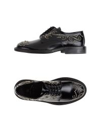 Leather Crown - Black Lace-up Shoes - Lyst