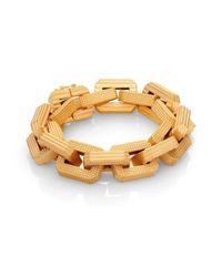 Eddie Borgo | Metallic Large Supra Link Bracelet | Lyst