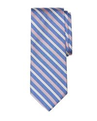 Brooks Brothers | Blue Melange Twin Stripe Tie for Men | Lyst