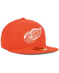 KTZ | Orange Detroit Red Wings C-dub 59fifty Cap for Men | Lyst