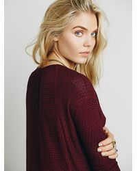 Free People | Red We The Free Womens We The Free Bittersweet Hacci | Lyst