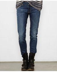 Denim & Supply Ralph Lauren   Blue Cropped Skinny Jeans, Frey Wash   Lyst