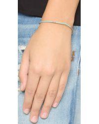 Shashi | Blue Mary Bracelet - Fuchsia | Lyst