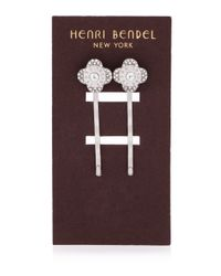 Henri Bendel - Metallic Miss Bendel Petal Bobby Pin Set - Lyst