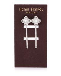 Henri Bendel | Metallic Miss Bendel Petal Bobby Pin Set | Lyst