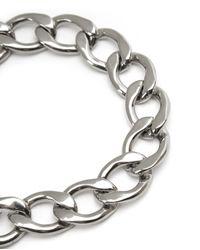 Juicy Couture | Metallic Pave Banner Heart Starter Bracelet | Lyst