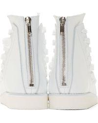 Kris Van Assche - White Multi Lace High_top Sandals for Men - Lyst
