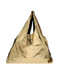 Calvin Klein Jeans | Metallic Shoulder Bag | Lyst