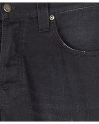 Nudie Jeans - Dark Blue Steady Eddie Black Note L30 for Men - Lyst