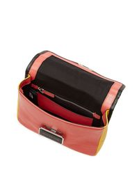 Marc By Marc Jacobs - Pink Rebel Color-block Leather Shoulder Bag - Multicolor - Lyst
