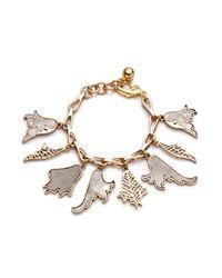 Lulu Frost - Metallic Delirium Charm Bracelet - Lyst
