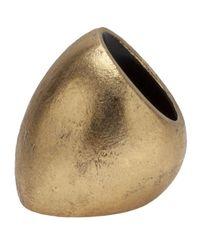 Monies - Metallic Gold Foil Ring - Lyst