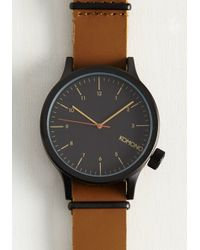 Komono - Black The Hours That Be Watch - Lyst
