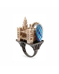 Aenea | Multicolor London City Ring for Men | Lyst