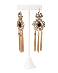 Forever 21 | Metallic Romantic Duster Earrings | Lyst