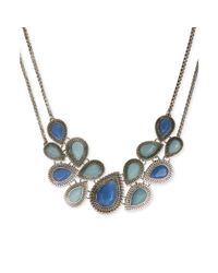 Lucky Brand   Blue Jade Turquoise Collar Necklace   Lyst