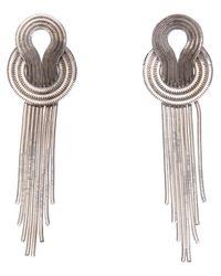 Lara Bohinc   Metallic Saturn Earrings   Lyst