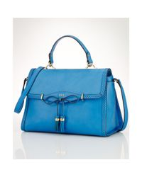 Lauren by Ralph Lauren | Blue Dundee Convertible Satchel | Lyst