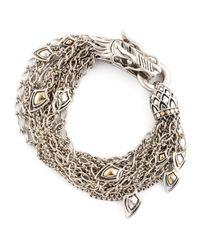 John Hardy | Metallic Dragon Dangling Bracelet | Lyst