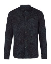 Paul Smith - Green Abstract Dot Shirt for Men - Lyst
