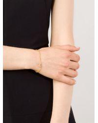 Marie-hélène De Taillac | Metallic Rose Quartz Lip Bracelet | Lyst