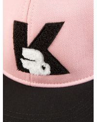 Karl Lagerfeld - Pink Karl Cap - Lyst