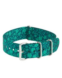 J.Crew - Green Patterned Watch Strap for Men - Lyst