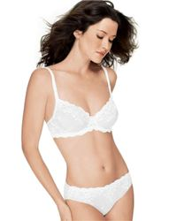 Wacoal | White Embrace Lace Underwire Bra | Lyst
