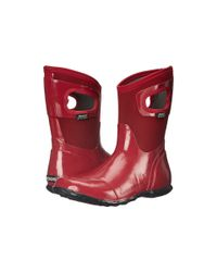 Bogs - Red North Hampton Solid Mid - Lyst