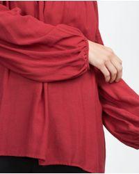 Zara   Purple Off-the-shoulder Top   Lyst