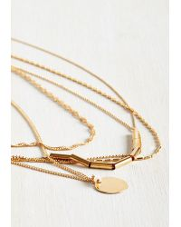 Ana Accessories Inc - Metallic Team Layer Necklace - Lyst