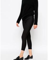 Suncoo - Black Uncoo Janis Pleated Skinny Trouser - Lyst