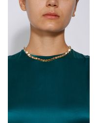 Eddie Borgo - Metallic Small Pyramid Necklace - Lyst