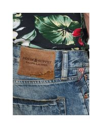Denim & Supply Ralph Lauren - Blue Slim-fit Oceanside Denim Short for Men - Lyst