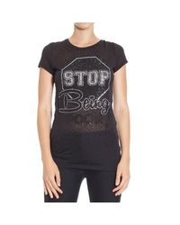 Philipp Plein - Black T-shirt - Lyst