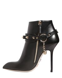Daniele Michetti - Black 120mm Belted Calfskin Boots - Lyst