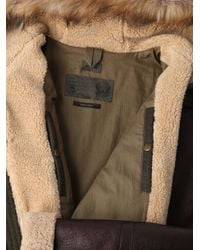 DIESEL - Green Jacket for Men - Lyst
