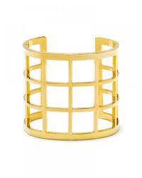 BaubleBar | Metallic Athena Grid Cuff | Lyst