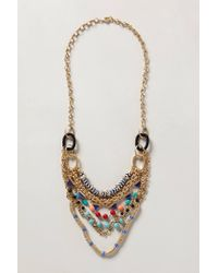 Anthropologie | Multicolor Mixlink Necklace | Lyst