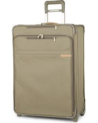 Briggs & Riley | Brown Baseline Large Expandable Upright Suitcase 68cm for Men | Lyst