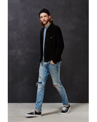 Deus Ex Machina | Black Django Suede Jacket for Men | Lyst