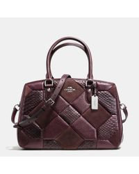 COACH | Metallic Empire Patchwork Tote | Lyst